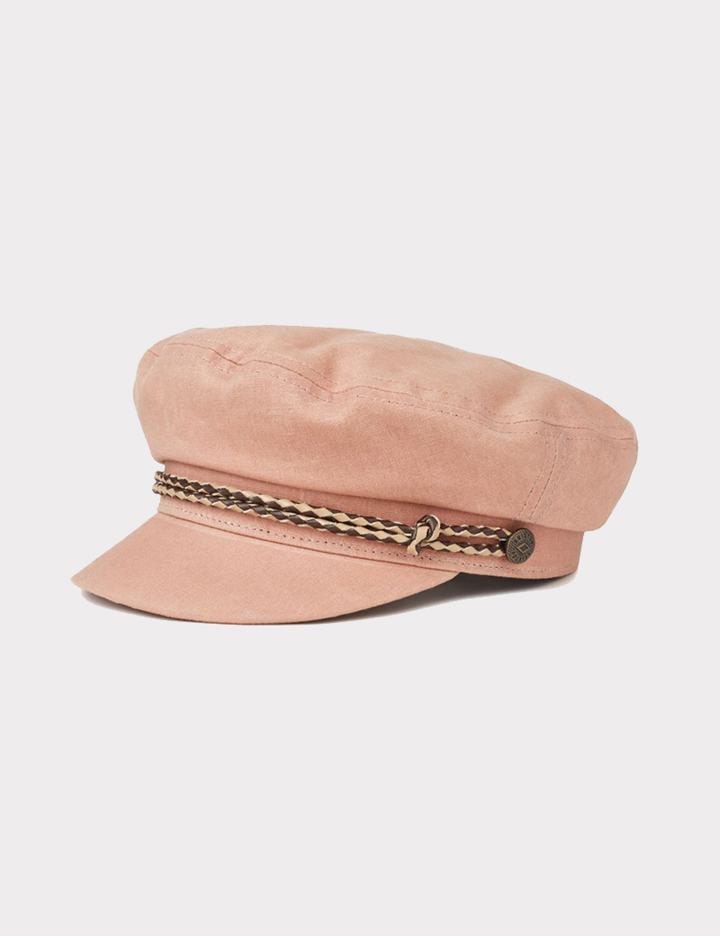 c195b923297 Brixton Ashland Cap-rose tan - Denim and Cloth