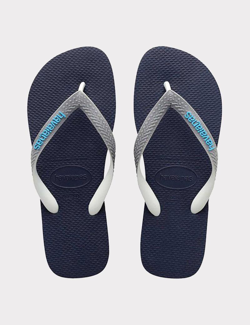 Havaianas Top Mix Navy grey blue - Denim and Cloth af0bac565f46