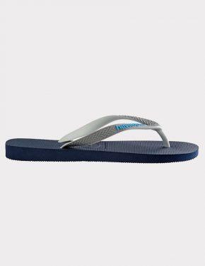 d524d8e36555 Havaianas Top Mix Navy grey blue - Denim and Cloth