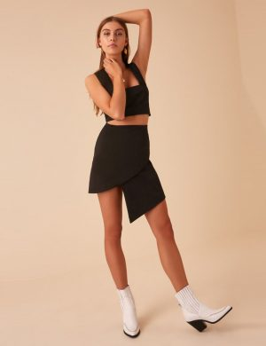 9a4284d619 Finders Keepers Destination Skirt. AU  129.00. Finders Keepers Whisper Cami- black