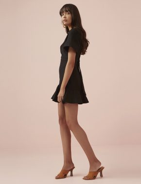 615ed6f58bd Finders Keepers Francis Mini Dress Black - Denim and Cloth